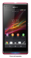 Sony - Xperia L Cell Phone (Unlocked) - Red