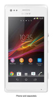 Sony - Xperia M Cell Phone (Unlocked) - White