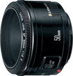 Canon - EF 50mm f/18 II Telephoto Lens for Canon Digital SLR Cameras