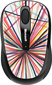 Microsoft - Wireless Mobile Mouse 3500 - Exploding Lines by Mike Perry
