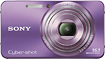 Sony - Cyber-shot 161-Megapixel Zoom Digital Camera - Purple/Violet