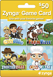 Zynga - Zynga - Combo Game Card ($50)