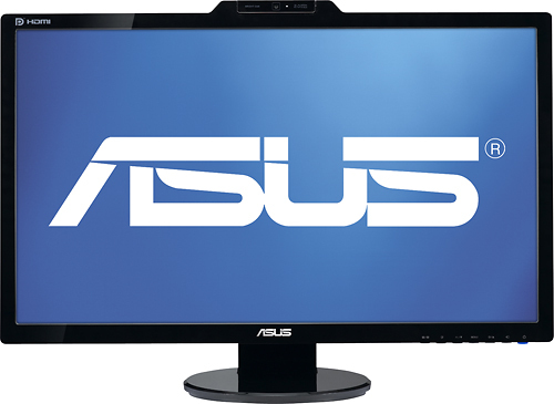 Asus - 27 Widescreen LED HD Monitor - Black