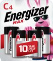 Buy Energizer MAX Batteries C (4-Pack)