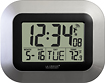 La Crosse Technology - Atomic Digital Wall Clock - Silver