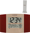 La Crosse Technology - Atomic Digital Wall Clock - Cherry