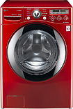 LG 3.7 Cu. Ft. 9-Cycle Large Capacity Washer - Wild Cherry