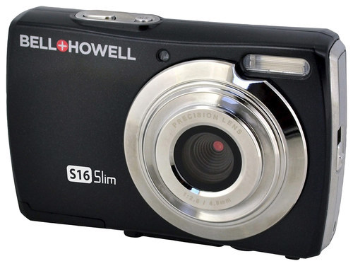 Bell and Howell - S16 16.0-Megapixel Digital Camera - Black