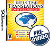 Just In Time Translations: Say It In Six Languages - PRE-OWNED - Nintendo DS