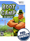 Boot Camp Academy - PRE-OWNED - Nintendo Wii