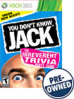 You Don't Know Jack - PRE-OWNED - Xbox 360