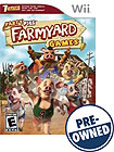 Party Pigs: Farmyard Games - PRE-OWNED - Nintendo Wii