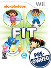 Nickelodeon Fit - PRE-OWNED - Nintendo Wii