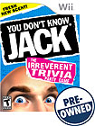 You Don't Know Jack - PRE-OWNED - Nintendo Wii