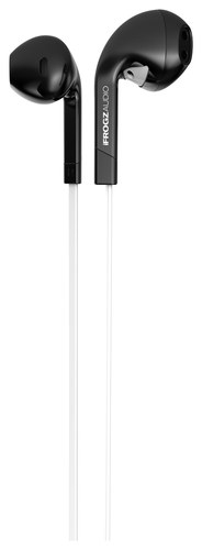 iFrogz - InTone Earbud Headphones - Black