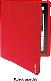 Hard Candy Cases - Convertible Case for Apple iPad 2 - Red