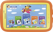 Samsung - Galaxy Tab 3 7.0 Kids - 8GB - Orange/Yellow