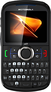 Boost Mobile - Motorola Clutch+ i475 No-Contract Mobile Phone - Black