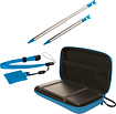 dreamGEAR - 4-in-1 Case Pack for Nintendo 3DS - Blue - Blue