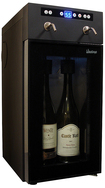 Vinotemp - 2-Bottle Wine Dispenser - Black
