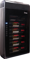 Vinotemp - 6-Bottle Wine Cooler - Black