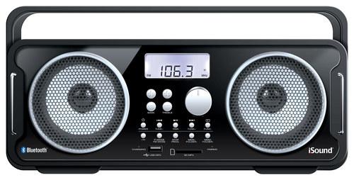 iSound - BT-4000 Wireless Boombox - Black