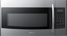 Samsung - 1.8 Cu. Ft. Over-the-Range Microwave - Stainless-Steel<br />