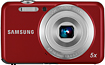 Samsung ES80 122-Megapixel Digital Camera - Red