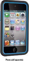 DLO ArmaDuo Cases for 4th-Generation Apple iPod touch (2-Pack) - Blue/Charcoal