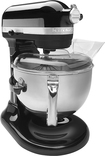 KitchenAid - Professional 600 Series Bowl-Lift Stand Mixer - Caviar
