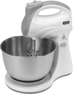 Sunbeam - 5-Speed Hand/Stand Mixer - White/Black