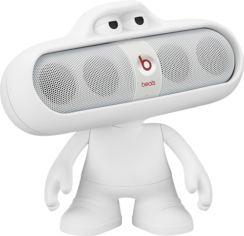 Beats by Dr. Dre BEATS PILL CHARACTER WHITE angleImage