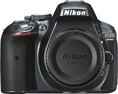 Nikon - D5300 Dslr Camera (Body Only) - Gray