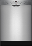 "Bosch - Evolution Ascenta 24"" Tall Tub Built-In Dishwasher - Stainless-Steel"