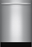 "Bosch - Integra 500 Series 24"" Tall Tub Built-In Dishwasher - Stainless-Steel"