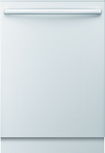 "Bosch - Integra Ascenta 24"" Tall Tub Built-In Dishwasher - White"