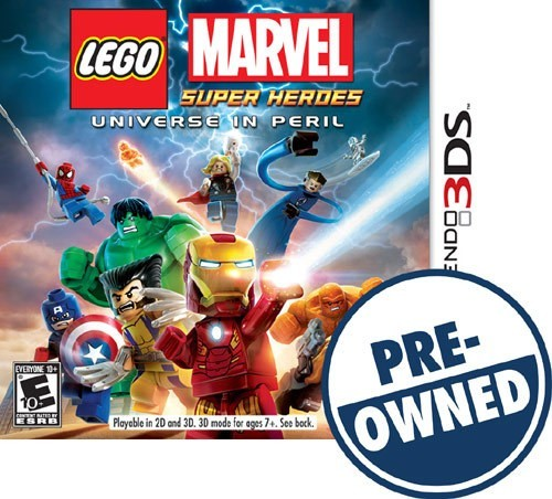 Lego Marvel Super Heroes: Universe in Peril - PRE-Owned - Nintendo 3DS