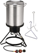 Masterbuilt - Outdoor Turkey Fryer - Stainless-Steel