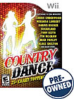 Country Dance - PRE-OWNED - Nintendo Wii