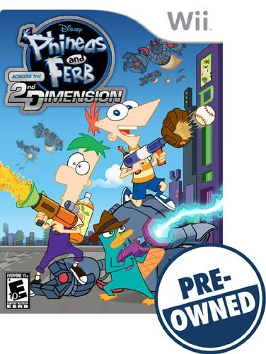 Phineas and Ferb: across the 2nd Dimension - PRE-Owned - Nintendo Wii
