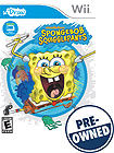 uDraw: SpongeBob SquigglePants - PRE-OWNED - Nintendo Wii
