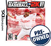 Major League Baseball 2K11 - PRE-OWNED - Nintendo DS