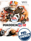 Madden NFL 12 - PRE-OWNED - Nintendo Wii