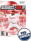 Major League Baseball 2K11 - PRE-OWNED - Nintendo Wii