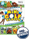 Mini Golf Resort - PRE-OWNED - Nintendo Wii