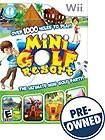 Mini Golf Resort - PRE-OWNED - Nintendo Wii