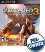 Uncharted 3: Drake's Deception - PRE-OWNED - PlayStation 3