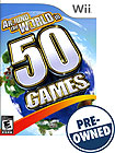 Around the World In 50 Games - PRE-OWNED - Nintendo Wii
