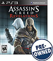 Assassin's Creed: Revelations - PRE-OWNED - PlayStation 3