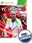 Top Spin 4 - PRE-OWNED - Xbox 360